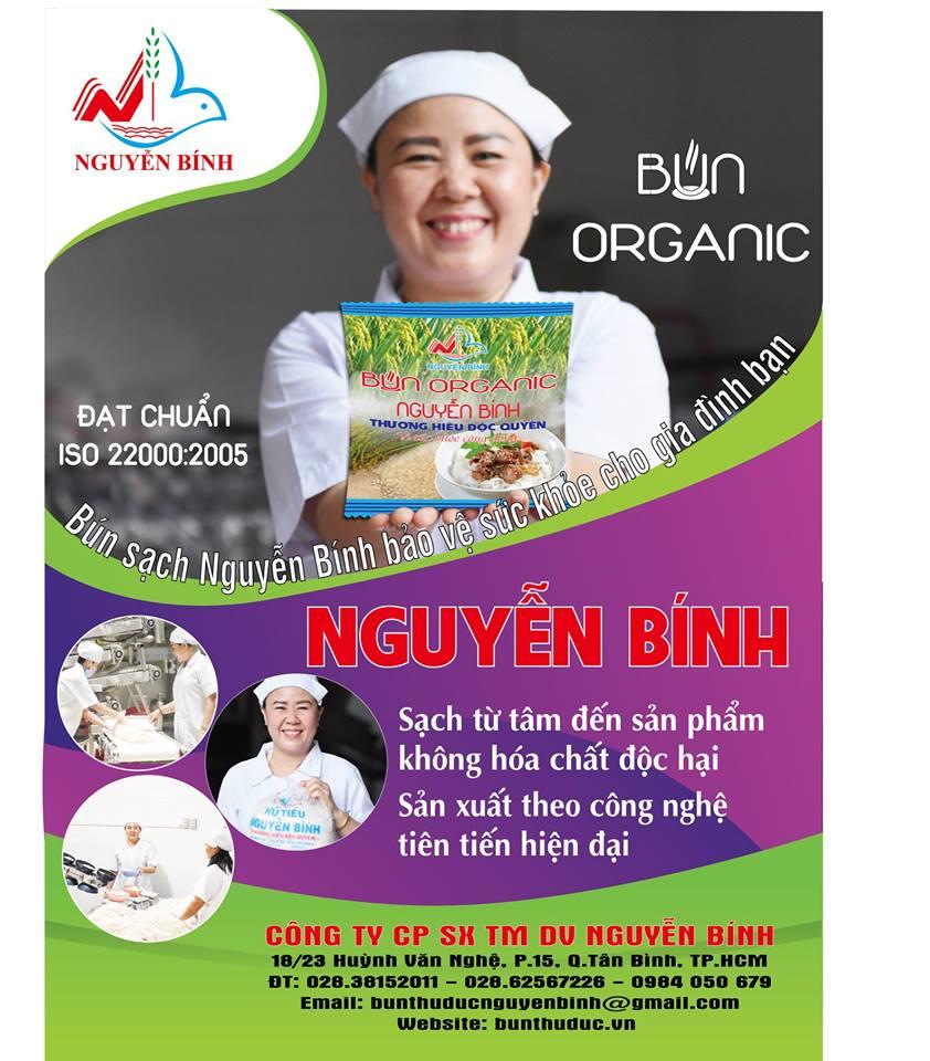 Bún organic - Bún Nguyễn Bính