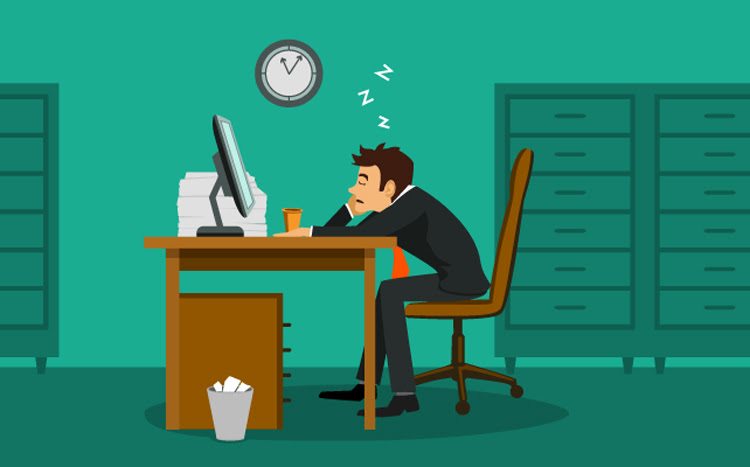 8 cách trì hoãn. công việc